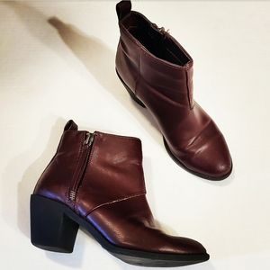 Forever 21 Womens Deep Purple Ankle Booties